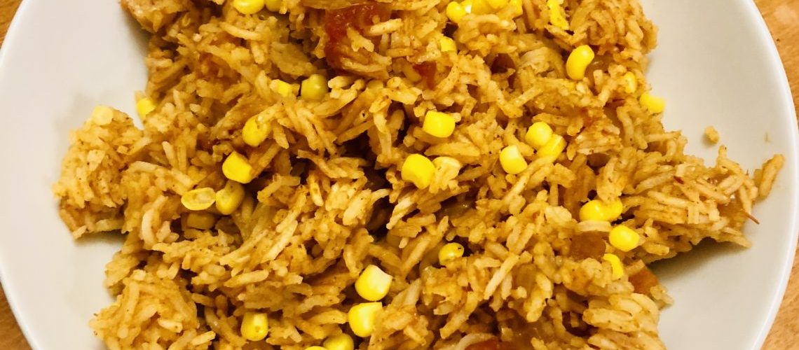 Salsa Rice with Corn