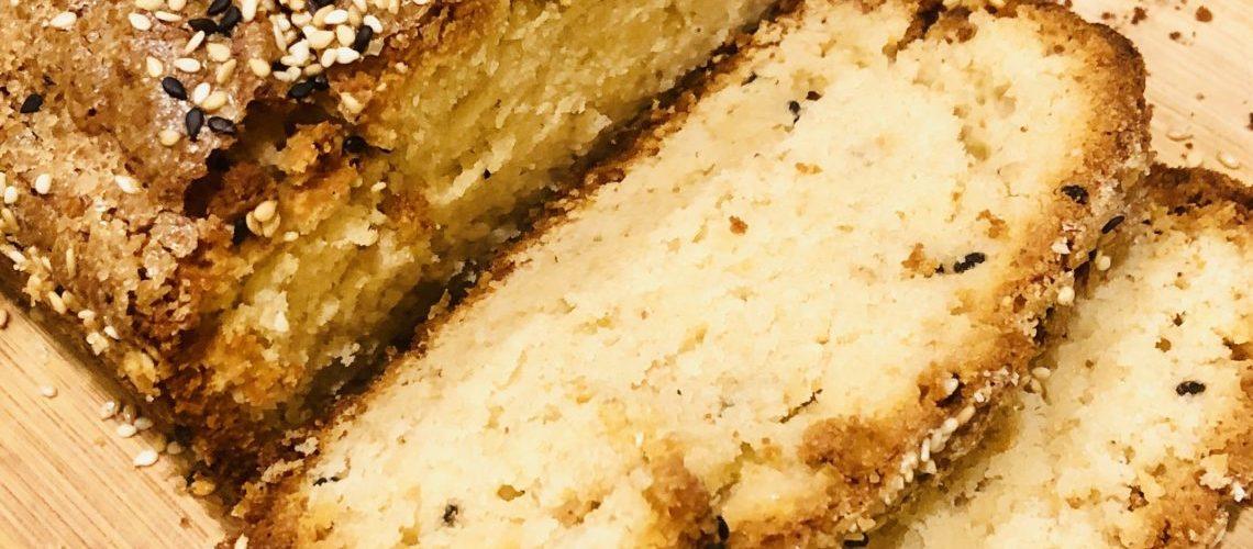 Sesame Tea Bread