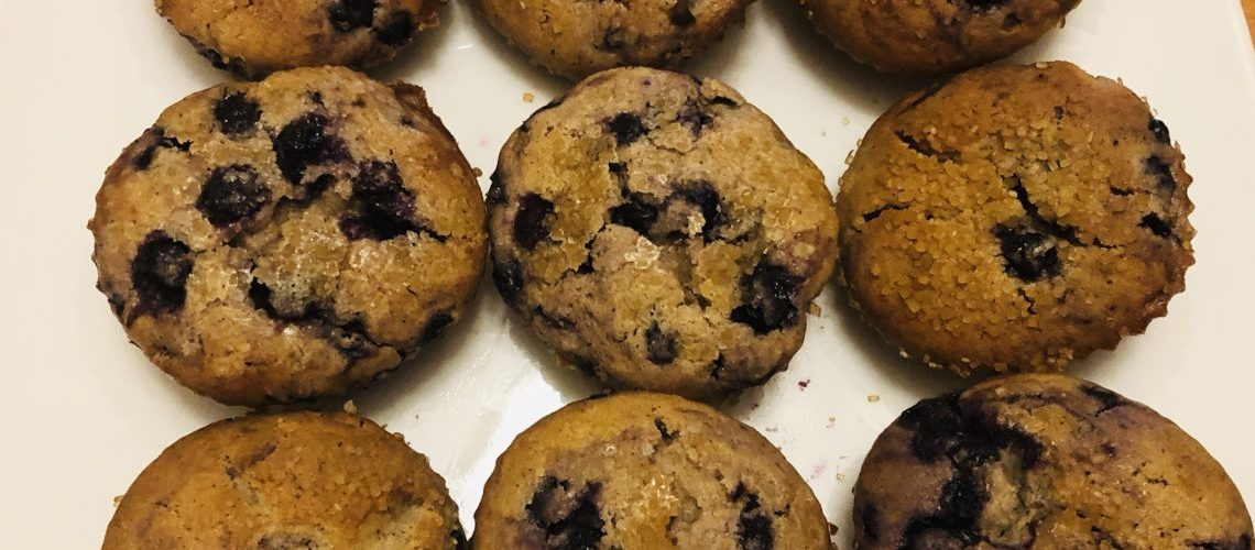 Cinnamon Blueberry Muffins