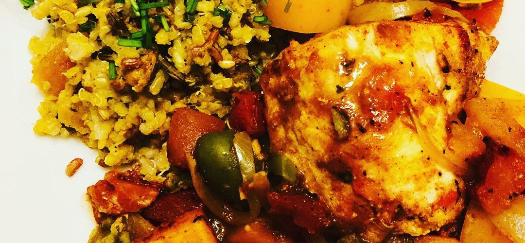 Moroccan Style Chicken and Vegetables