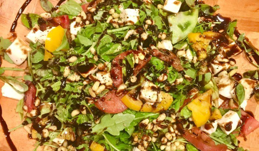 Kicked Up Caprese Salad