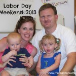 Our Labor Day Weekend 2013
