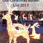 Our Christmas Bucket List {On a Budget}