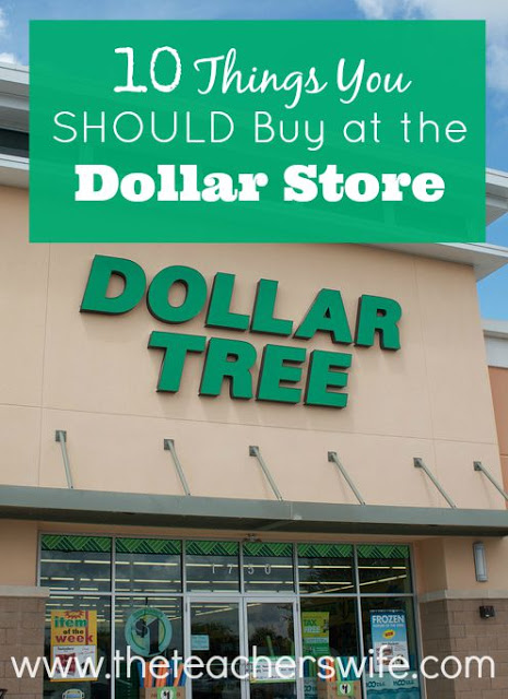 10 things you should buy at the dollar store the teacher for Dollar store items online