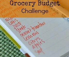 {June} End of the Month Grocery Challenge