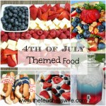 4th of July Themed Food