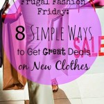 8 Simple Ways to Get Great Deals on New Clothes