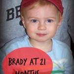 Brady at 21 Months