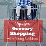 Tips for Grocery Shopping with Young Children
