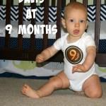 Davis at 9 Months
