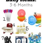 My Favorite Baby Items {3-6 Months}