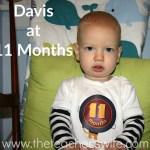 Davis at 11 Months