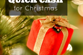 2 Ways to Earn QUICK Cash for Christmas