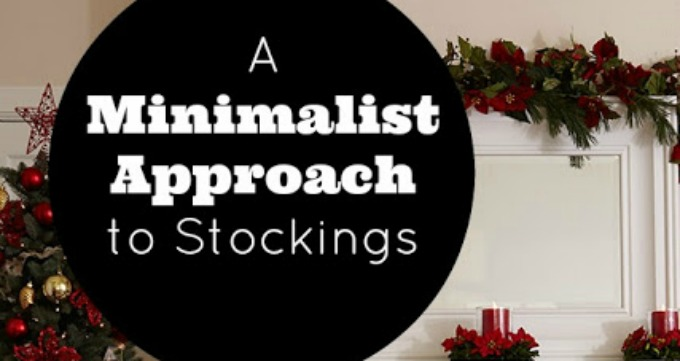 A Minimalist Approach to Stockings - Day 10