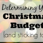 Determining Your Christmas Budget – Day 2