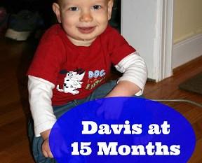 Davis at 15 Months