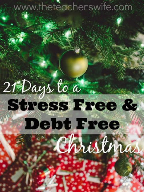 21 Days to a Stress Free & Debt Free Christmas