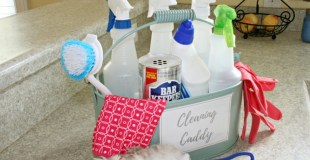 Create a Cleaning Caddy So You Actually Clean!