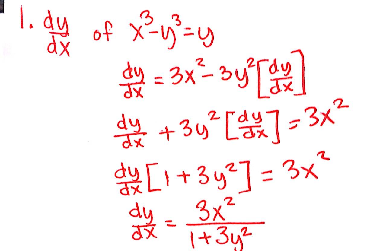 Ap Calc Lesson 7 Implicit Differentiation