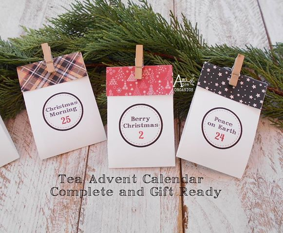 5 best tea advent calendars for your christmas countdown. Black Bedroom Furniture Sets. Home Design Ideas