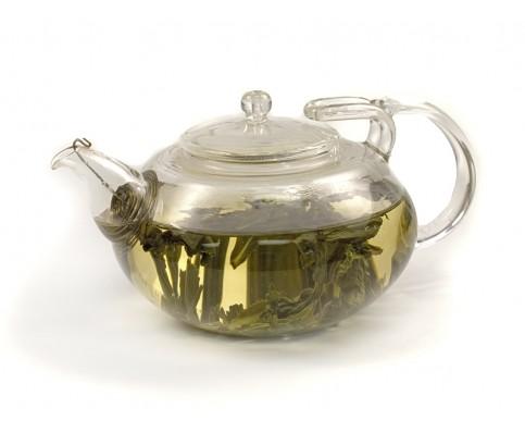 Handblown Glass Teapot