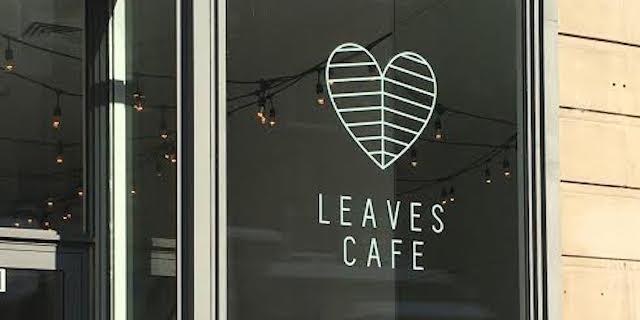 cafe leaves
