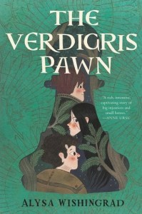 The cover of The Verdigris Pawn