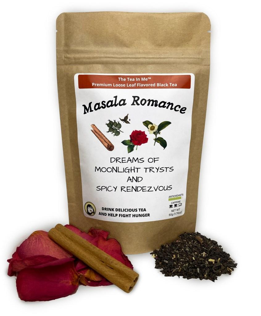 Kraft bag of The Tea In Me Masala Romance loose leaf tea