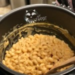 this instant pot Mac and cheese is smooth and creamy. It is sure to be a family favorite dinner.