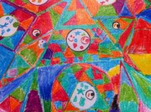 Lillian's New Abstract Art May 2016