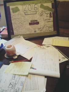 Prep Work for 2017 Goals and Visions 1.6.17