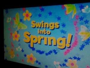 Swings Into Spring Movie 2.14.15