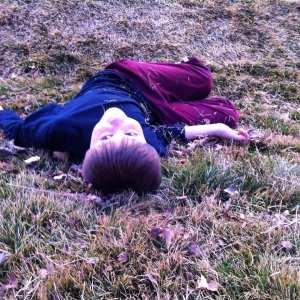 Thomas on grassy hill 2.2015
