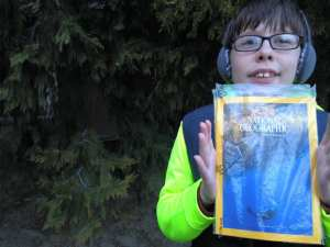 Thomas with National Geographic 2.3.17