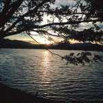 Walk with Lillian Vintage Lake Sunset 6.15.17 #3