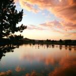 Sunset Walk with Lillian Vintage Lake 8.29.17 #4
