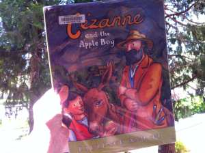 Cezanne and the Apple Boy Book 2017
