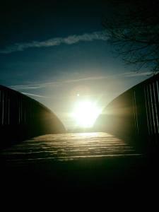 Frosty Bridge Sunbeams 12.13.17