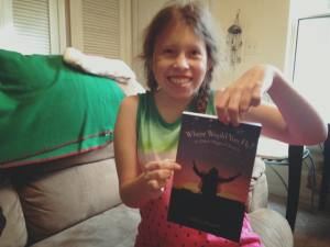 Lillian with Proof Book Where Would You Fly 12.22.17