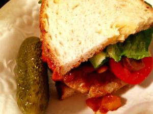 Veggie Chili Burger 1.10.18