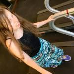 Lillian on Treadmill 5.3.18 #1