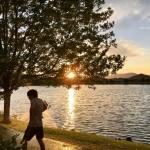 Sunset Walk with Thomas Vintage Lake 6.6.18 #11