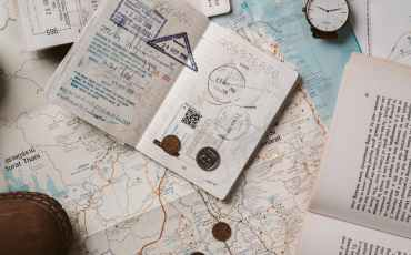 travel documents and necessities