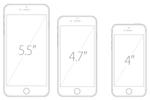 iPhone Rumor Sizes