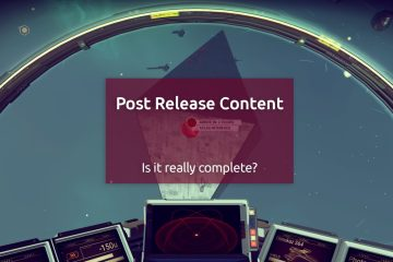 Post Release Content Drops