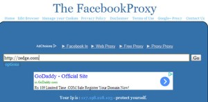 Facebook Proxy Sites