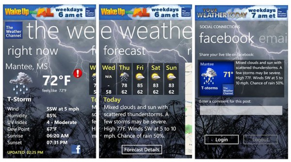 Download Weather The Weather Channel For PC On Windows 10, 8