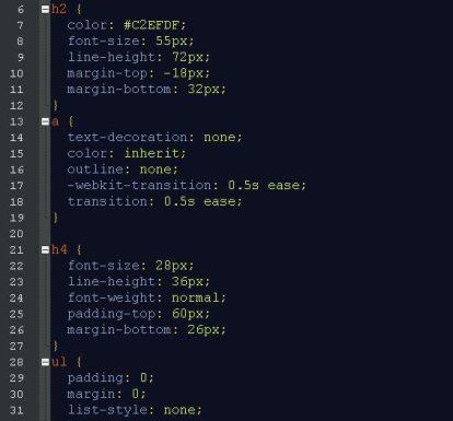 css example code