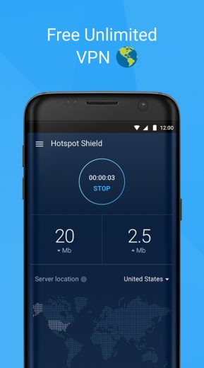 Download Hotspot Shield Free VPN Proxy & WiFi Security For