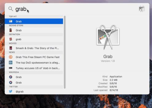 Apple-Mac-OS-Find-Grab-Application